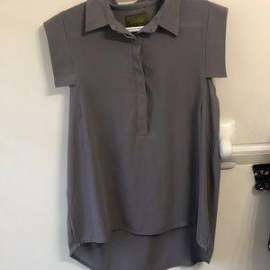 Georgette sleeveless shirt